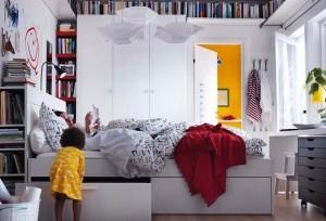 IKEA miegamojo kambarys