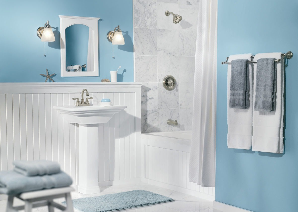 Kaip pigiau sirengti vonios kambar for Dulux bathroom ideas