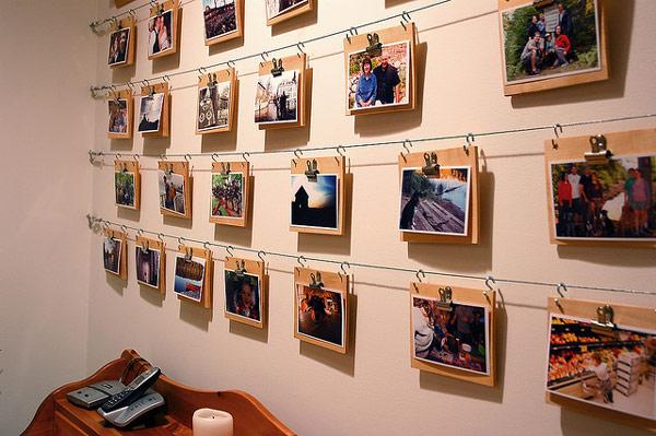 Mediniai nuotraukų rėmeliai