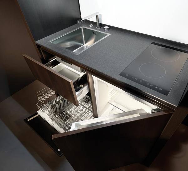 Kompaktiška virtuvė