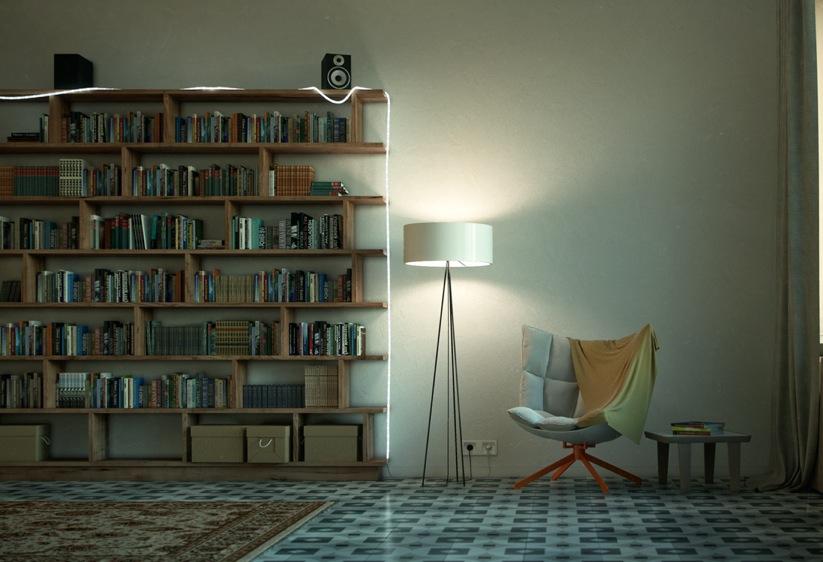 Skaitymui skirta erdvė