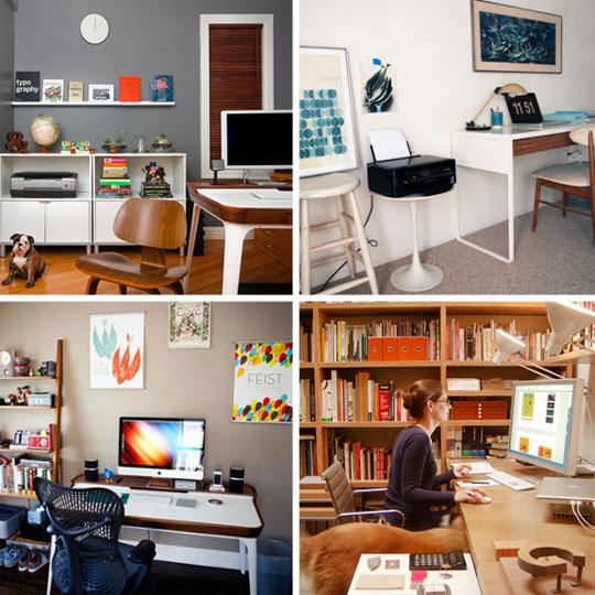 Tvarkingi namų ofisai
