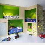 Vaiko kambarys keturiems