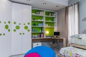 Sienų dekoras vaiko kambaryje