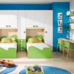 Vaiko kambarys dviems