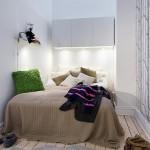 Mažas, tačiau praktiškas miegamasis
