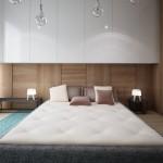 Jaukus ir išskirtinis miegamojo interjeras