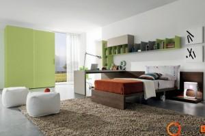 Tvarkingai ir puikiai išdėstyti baldai