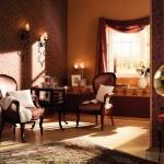 Komfortas, jaukumas ir prabanga klasikiniuose balduose ir interjere