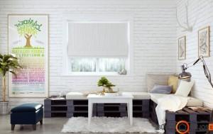 Puiki svetainės kampinė sofa - tikrai atrodo išradingai