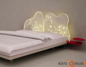 Tikrai neįprastai atrodanti lova