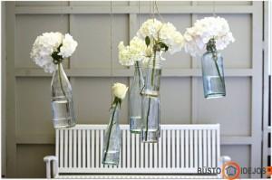 Kabančios gėlės - įspūdinga idėja