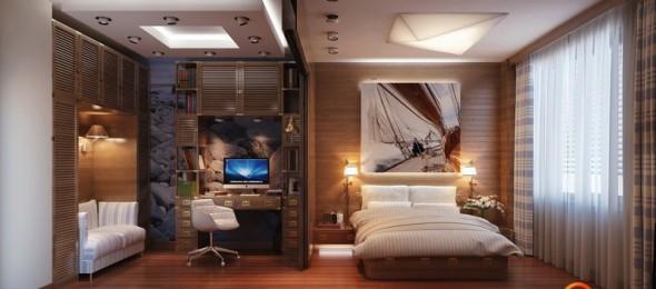Darbo zona miegamajame