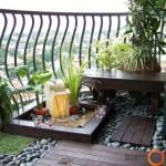 Prabangus balkonas
