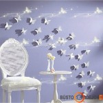 Lipdukai ir popieriniai drugeliai