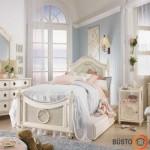 Vintažinis kambarys mergaitei