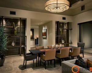 Valgomojo kambarys, skirtas vakarienei ar vėlyviems pietums