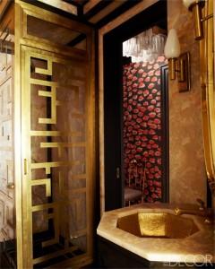 Svečių vonios kambarys