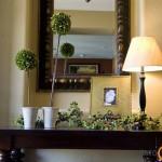 Jei prieškambaris atlieka ir koridoriaus funkciją, naudinga jame įrengti orientacinį šviestuvą