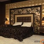 Glamūras miegamajame