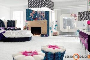 Išraiškingas glamūrinis interjeras