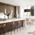 Virtuvė su langu