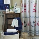 Jūros motyvai vonios kambaryje