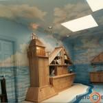 Vaiko kambarys mažajam jūreiviui