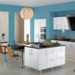Virtuvėje mėlyna labai reta spalva