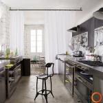 Originalus virtuvės interjeras