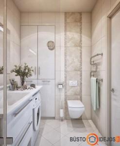 Protingai įrengtas vonios kambarys