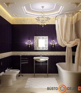 Klasikinio stiliaus vonios kambarys