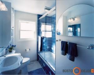Daugeliui mėlyna - tinkamiausia spalva vonios kambariui