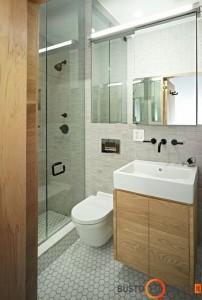 Modernus vonios kambarys