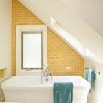 Saulėtas vonios kambarys