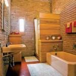 Modernus ir jaukus vonios kambarys