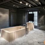 Originalus vonios kambario interjeras