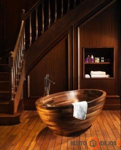 Tokia vonia ypatingai puošia kambario interjerą