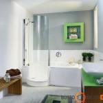 Patogus būdas maudytis po dušu vonioje