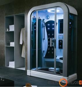 Dušo kabina, primenanti erdvėlaivį