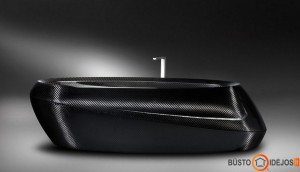 Originalios formos juoda vonia