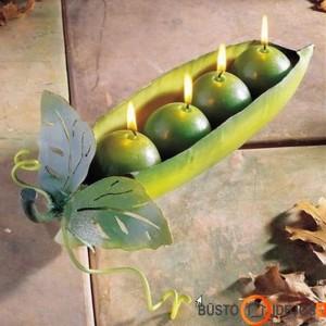 Originali žirnio imitacija žvakėmis