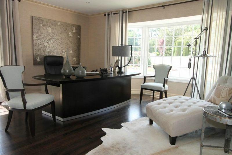 Kokio armo darbo kambariui suteikia iuolaikinio dizaino tor eras ir metalinis staliukas - Moderne lounges fotos ...