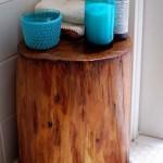 Jei ketinate statyti staliuką vonioje, prieš tai jį gerai impregnuokite