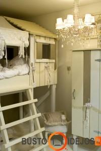 Romantiškas namelis mažai princesei