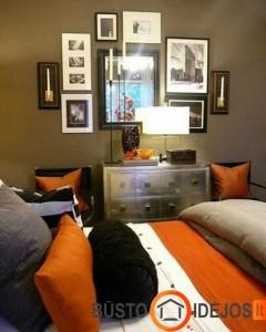 Oranžinė - šilumos suteikianti spalva - puikiai tinka tekstilei