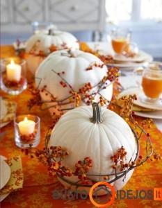 Įspūdingas stalo dekoras