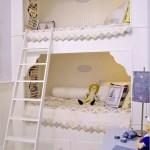 Miela dviaukštė lova mergaitėms