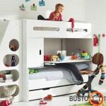 Originali ir daugiafunkciška dviaukštė lova