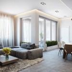 Modernaus stiliaus butas